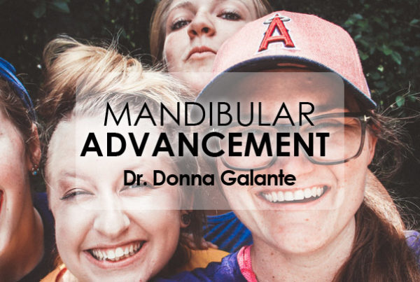 Webinar Mandibular Advancement