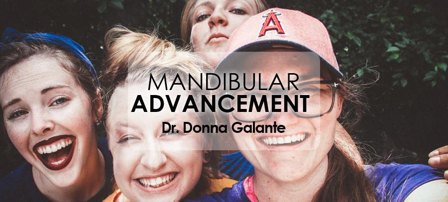 Webinar Mandibular Advancement